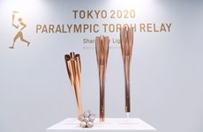 Sự kiện thắp đuốc Paralympic Tokyo được tổ chức trên khắp nước Nhật