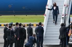 [Video] Hình ảnh Phó Tổng thống Mỹ Kamala Harris tới Singapore