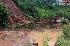 Lai Châu: Mưa lớn gây sạt lở, ách tắc giao thông tại nhiều tuyến đường