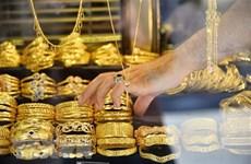 Giá vàng châu Á phiên sáng 30/8 đạt mốc cao nhất trong hơn 3 tuần