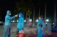 Thái Bình đón 21 học sinh bị mắc kẹt ở Thành phố Hồ Chí Minh trở về