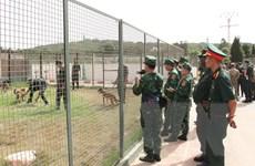Đoàn Army Games Việt Nam trao đổi kinh nghiệm đào tạo chó nghiệp vụ