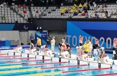 Paralympic: Võ Thanh Tùng dừng bước ở vòng loại nội dung bơi sở trường