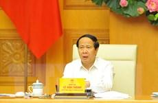 Ông Lê Văn Thành là Trưởng ban Chỉ đạo các dự án trọng điểm về dầu khí