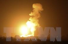 Quân đội Israel không kích các cơ sở của Hamas ở Dải Gaza
