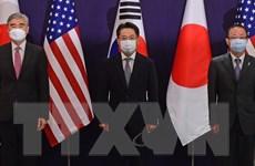 Hàn Quốc-Mỹ-Nhật Bản dự kiến họp 3 bên về vấn đề hạt nhân Triều Tiên