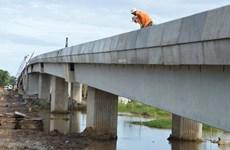 Sóc Trăng hợp long cầu Mạc Đĩnh Chi nối thành phố với cửa biển Trần Đề