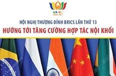 Hội nghị thượng đỉnh BRICS 13: Hướng tới tăng cường hợp tác nội khối