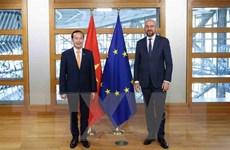 Bỉ và EU sẵn sàng tăng cường hơn nữa quan hệ với Việt Nam