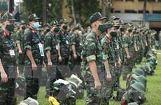 Tiếp tục tăng cường quân y biên phòng tham gia chống dịch tại phía Nam