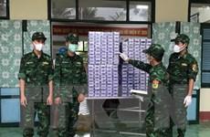 Biên phòng Kiên Giang bắt giữ 1.800 bao thuốc lá ngoại nhập lậu