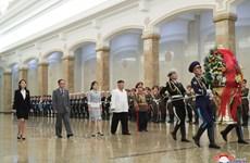 Ông Kim Jong-un tới viếng các cựu lãnh đạo nhân Quốc khánh Triều Tiên
