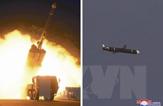 Mỹ-Nhật-Hàn theo dõi sát tình hình Triều Tiên thử tên lửa tầm xa