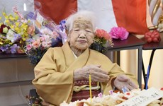 Nhật Bản ghi nhận số người già trên 100 tuổi cao kỷ lục