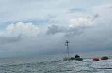 Chìm tàu Mỹ An 1: Kịp thời cứu nạn thuyền viên, ứng phó sự cố dầu tràn