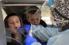 Dịch COVID-19: Hệ số lây nhiễm ở Israel tăng trở lại mức 1