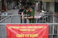 Hà Nội: Dỡ bỏ phong tỏa cách ly y tế khu vực ngõ 68 phố Đội Cấn