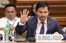 Võ sỹ huyền thoại Philippines tuyên bố tranh cử Tổng thống năm 2022