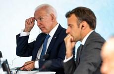Lãnh đạo Pháp-Mỹ sẽ sớm điện đàm giải quyết căng thẳng về vụ tàu ngầm