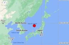 Động đất có độ lớn 6,1 ở ngoài khơi Nhật Bản gây rung lắc mạnh