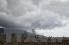 Tây Ban Nha: Đề phòng tro bụi và khí độc từ núi lửa ở đảo Palma