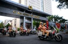 TP.HCM: Công an ra quân trấn áp tội phạm giai đoạn nới lỏng giãn cách