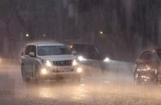 Vùng núi Bắc Bộ, Nam Trung Bộ, Tây Nguyên và Nam Bộ duy trì mưa dông