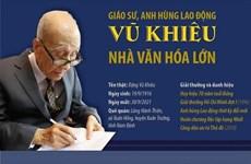 Giáo sư Vũ Khiêu - Người đặt nền móng ngành xã hội học và mỹ học VN
