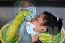 Số ca tử vong hàng ngày do COVID-19 ở Thái Lan giảm dưới ngưỡng 100