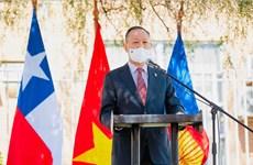 Trao giải thi vẽ tranh kỷ niệm 50 năm tình hữu nghị Việt Nam-Chile