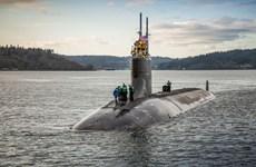 Tàu ngầm Mỹ va chạm vật thể lạ tại Biển Đông, 11 thủy thủ bị thương