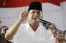 Bộ trưởng Quốc phòng Indonesia lần thứ ba đăng ký tranh cử Tổng thống