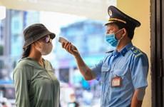 Áp dụng các biện pháp kiểm soát y tế người đi và đến ga Hải Phòng