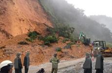 Mưa lũ gây sạt lở, ngập một số điểm trên các tuyến quốc lộ ở Thanh Hóa