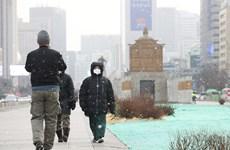Giá rét bất thường tại Hàn Quốc, nhiệt độ giảm trung bình 10 độ C