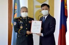 Việt Nam hỗ trợ Mông Cổ 50.000 USD để ứng phó dịch COVID-19