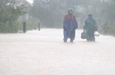 Từ chiều 18/10, khu vực Nghệ An-Quảng Trị cục bộ có mưa to đến rất to