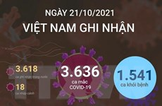 [Infographics] Cả nước ghi nhận 3.618 ca mắc, 1.514 ca khỏi bệnh