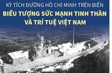 Đường HCM trên biển: Biểu tượng sức mạnh tinh thần và trí tuệ Việt Nam