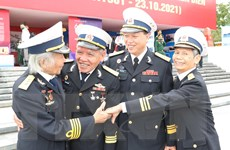 [Photo] Lễ kỷ niệm 60 năm Ngày mở đường Hồ Chí Minh trên biển