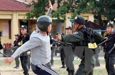 Hiện đại hóa Cảnh sát Cơ động, cần nâng từ pháp lệnh lên luật