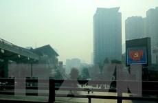 Ô nhiễm nặng không khí nặng tại một số điểm ở Hà Nội và vùng lân cận