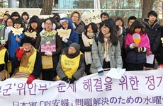 """[Video] Nhật, Hàn sẽ tiếp tục đàm phán về """"nô lệ tình dục"""""""
