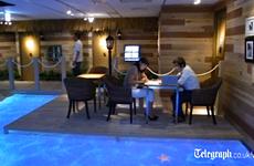 """[Video] Công ty Nhật Bản tạo """"bãi biển nhiệt đới"""" tại nơi làm việc"""