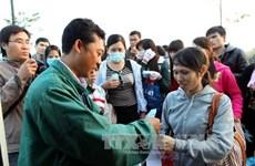 Tổ chức đón Tết ấm áp cho những công nhân xa quê