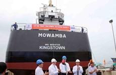 Đà Nẵng: Bàn giao tàu chở dầu cho khách hàng Australia