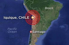 Indonesia có thể bị ảnh hưởng sóng thần do động đất Chile