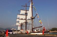 Lễ thượng cờ tàu buồm hiện đại nhất của Hải quân Việt Nam