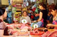 """Nhu cầu tiêu thụ tăng khiến thịt lợn lên cơn """"sốt giá"""""""