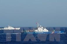 Trung Quốc tiếp tục dùng tàu tốc độ cao chặn tàu Kiểm ngư